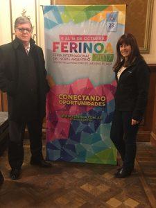Héctor Casal y Silvia Sposito en Salta.