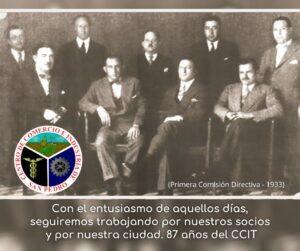 Primera Comisión Directiva